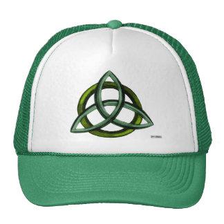 Triquetra (Green) Trucker Hat