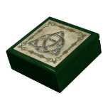Triquetra in Wood Keepsake Boxes