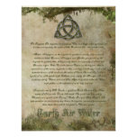 Triquetra Informational Poster
