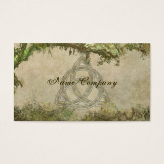 Triquetra Natural Business Card