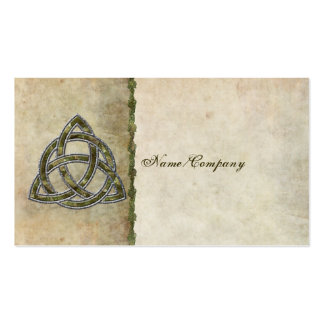 Triquetra Natural Double-Sided Standard Business Cards (Pack Of 100)