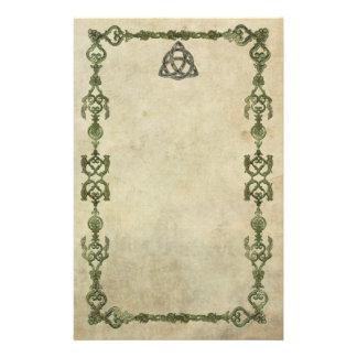 Triquetra natural papeleria personalizada