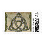 Triquetra Natural Postage Stamps