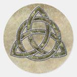 Triquetra Natural Sticker