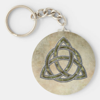 Triquetra Nature Keychain