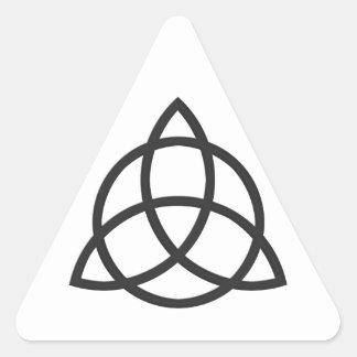 Triquetra Calcomanías De Trianguladas