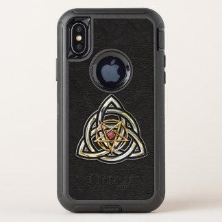 Triquetra Pentacle OtterBox Defender iPhone X Case