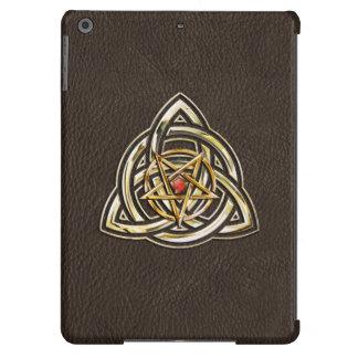 Triquetra Pentagram iPad Air Cover