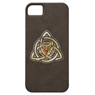 Triquetra Pentagram iPhone SE/5/5s Case