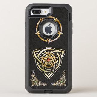 Triquetra Pentagram OtterBox Defender iPhone 8 Plus/7 Plus Case