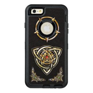 Triquetra Pentagram OtterBox Defender iPhone Case