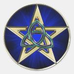 Triquetra Pentagram Sticker