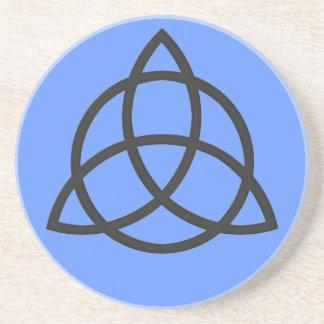 Triquetra Sandstone Coaster