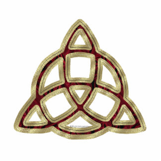Triquetra Sculpted Acrylic Products Statuette