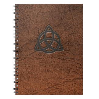 Triquetra Spiral Note Book