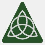 Triquetra Triangle Stickers