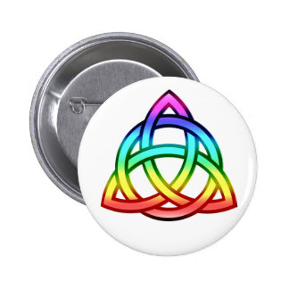 Triquetra (Trinity Knot) 2 Inch Round Button