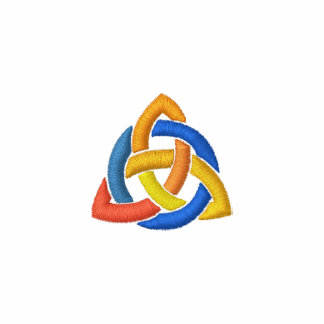 Triquetra - Trinity knot Embroidered Shirt
