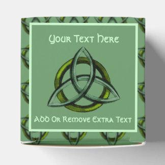 Triquetra (verde) caja para regalos