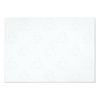 Triquetra Vesica 5x7 Paper Invitation Card