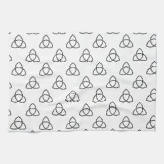 Triquetra Vesica Symbol Kitchen Towel