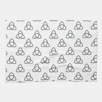 Triquetra Vesica Symbol Towel
