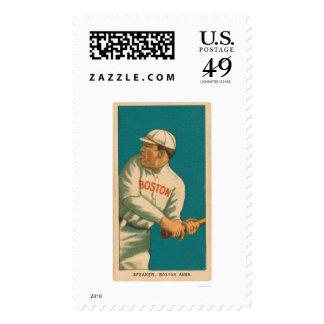 Tris Speaker Baseball 1911 Postage Stamp