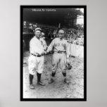 Tris Speaker Red Sox Baseball 1915 Poster
