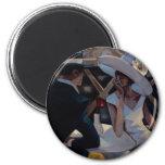 Trish Biddle Bar 3 2 Inch Round Magnet
