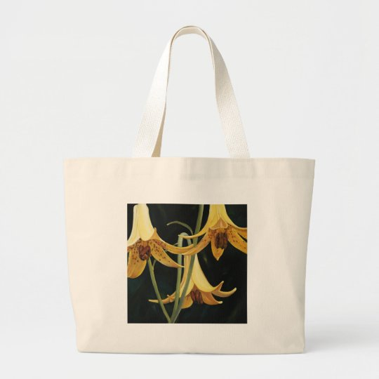 Trish Biddle Canada Lilly Large Tote Bag