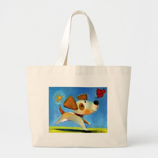 Trish Biddle Childrens Doggy 1 of 3 Canvas Bag