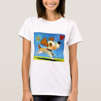 Trish Biddle Childrens Doggy 1 of 3 T-Shirt