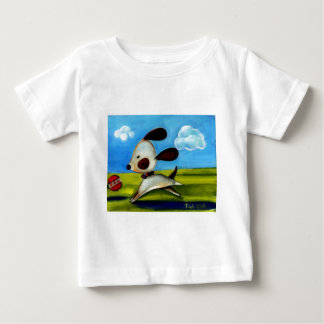 Trish Biddle Childrens Doggy 2 of 3 Baby T-Shirt