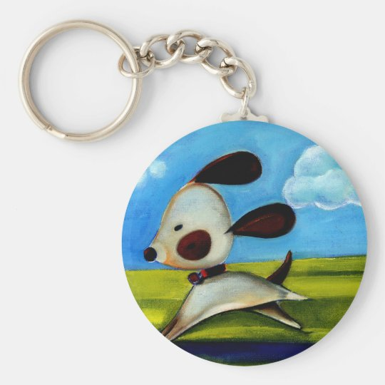 Trish Biddle Childrens Doggy 2 of 3 Keychain