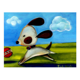 Trish Biddle Childrens Doggy 2 of 3 Postcard
