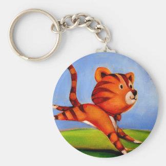 Trish Biddle Childrens Kitty 1 of 3 Keychain