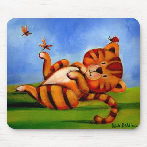 Trish Biddle Childrens Kitty 2 of 3 Mousepad