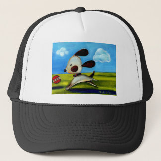 Trish Biddle Doggy 2 of 3 Trucker Hat