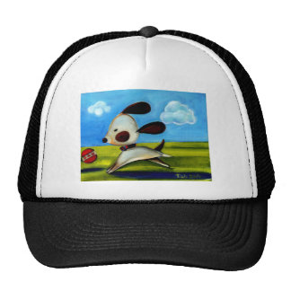 Trish Biddle Doggy 2 of 3 Trucker Hat