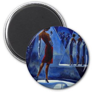 Trish Biddle Glammys 2 Inch Round Magnet