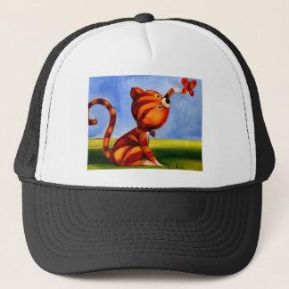 Trish Biddle Kitty 3 of 3 Trucker Hat