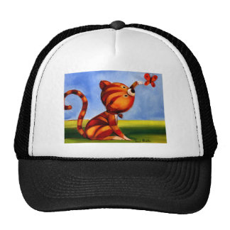 Trish Biddle Kitty 3 of 3 Trucker Hat