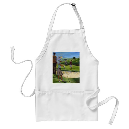 Trish Biddle - Ladies Golf Adult Apron