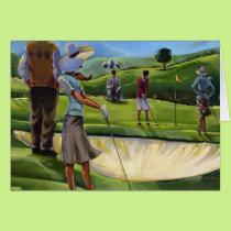 Trish Biddle - Ladies Golf Card