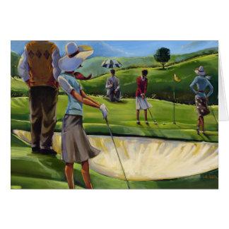 Trish Biddle - Ladies Golf Greeting Cards