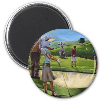 Trish Biddle - Ladies Golf Fridge Magnet
