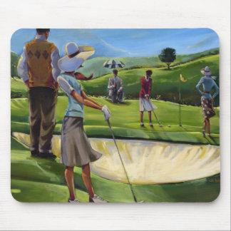 Trish Biddle - Ladies Golf Mouse Pad