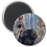 Trish Biddle New York Black Dress 2 Inch Round Magnet