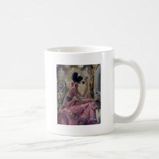 Trish Biddle Powder Pink Vanity Coffee Mug