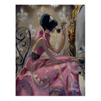 Trish Biddle Powder Pink Vanity Post Cards